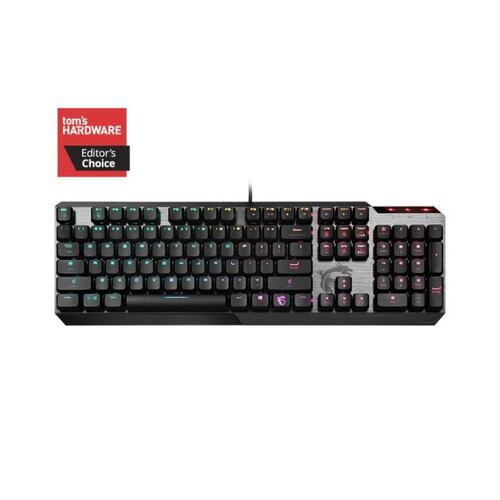 Клавиатура GAMING BLACK RU VIGOR GK50 LOW PROFILE RU MSI